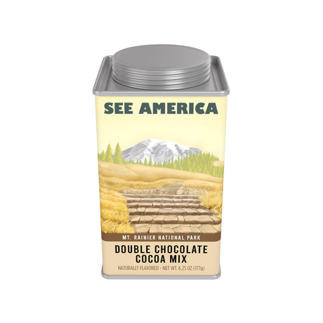 Mt. Rainier National Park // See America Double Chocolate Cocoa
