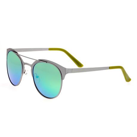 Phoenix Polarized Sunglasses // Titanium (Black Frame + Yellow Lens)