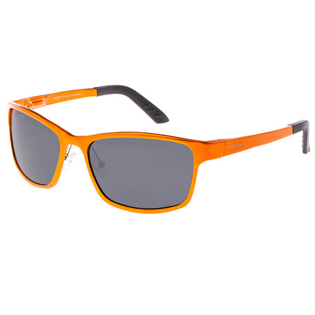 Hydra Polarized Sunglasses (Black Frame + Blue Lens)