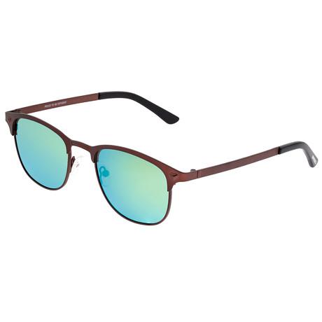 Phase Polarized Sunglasses (Black Frame + Orange-Yellow Lens)