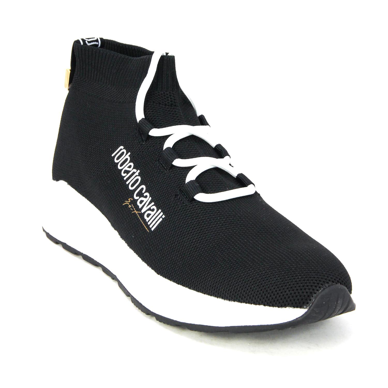 Knit Sock Sport Sneaker // Black