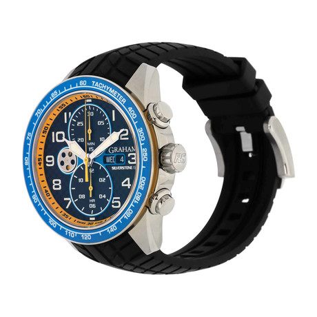 Graham Silverstone RS Racing Chronograph Automatic // 2STEA.B16A // Store Display