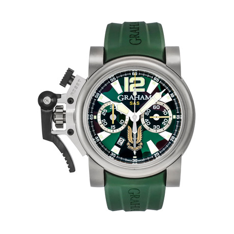 Graham Chronofighter Oversize Commando SAS Automatic // 2OVJT.G03A // Store Display