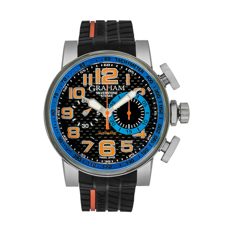 Graham Silverstone Racing Stowe Chronograph Automatic // 2BLGA.B13A // Store Display