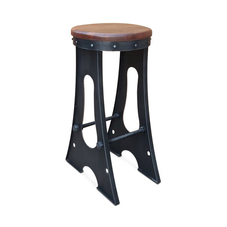 Industrial Bar Stool // Set of 2