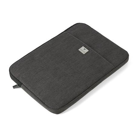 Laptop Notebook Sleeve + Travel Electronics Bag (Black)