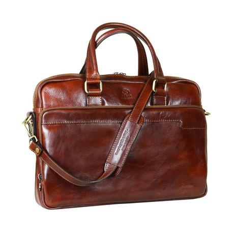Orlando // Laptop Bag // Brown