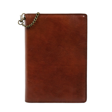 The Diary Of A Nobody // Leather Journal + Refillable Notepad // Dark Brown