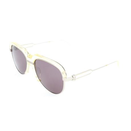 Men's CKNYC1970S Sunglasses // Crystal Pale Yellow