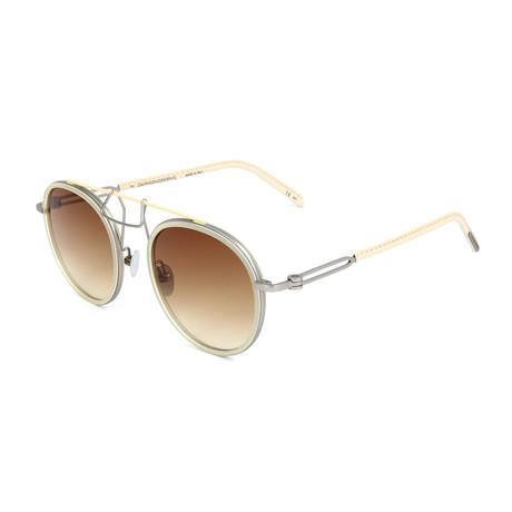 Unisex CKNYC1870S Sunglasses // Milky Pale Yellow