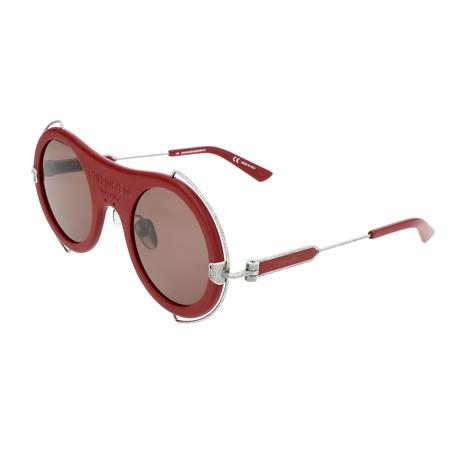Unisex CKNYC1875SR Sunglasses // Matte Burgundy
