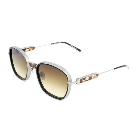 Men's CKNYC1816S Sunglasses // Black + Silver