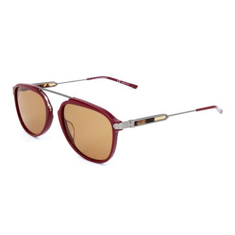 Men's CKNYC1872S Sunglasses // Burgundy