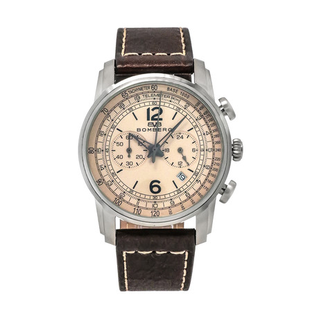 Bomberg Semper Chronograph Quartz // SP42CHSS.BE0.1.LBR
