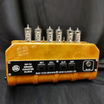 Six Tube Geiger Counter Clock