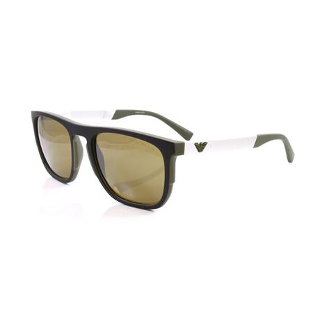 Emporio Armani // Men's EA4114 Sunglasses // Matte Olive