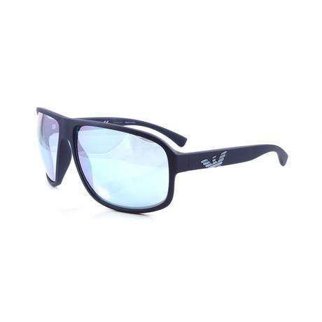 Emporio Armani // Men's EA4130 Sunglasses // Matte Blue