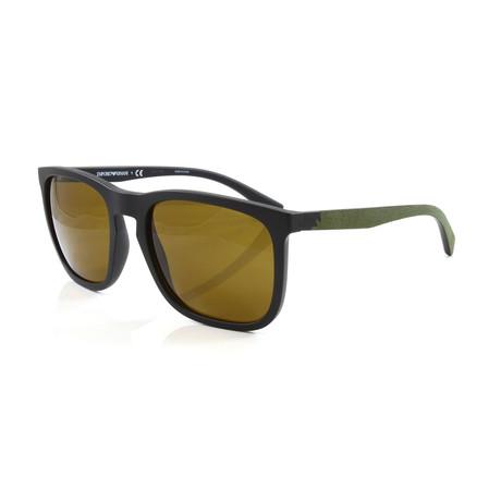 Emporio Armani // Men's EA4132 Sunglasses // Matte Black