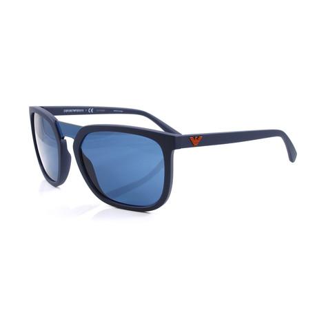 Emporio Armani // Men's EA4123 Sunglasses // Matte Blue
