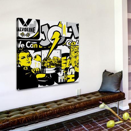 "Jolt 1 Print on Wrapped Canvas (12""H x 12""W x 1.5""D)"