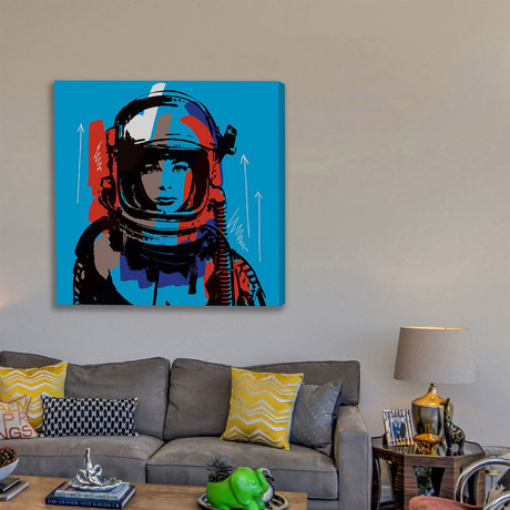 """Astro III Print on Wrapped Canvas (12""""H x 12""""W x 1.5""""D)"""