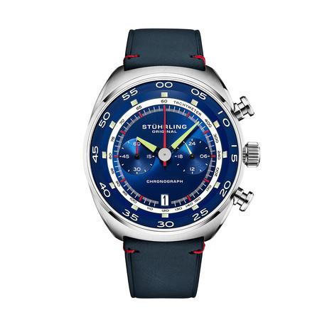 Stuhrling Original Monaco Chronograph Quartz // 1000.02 // New