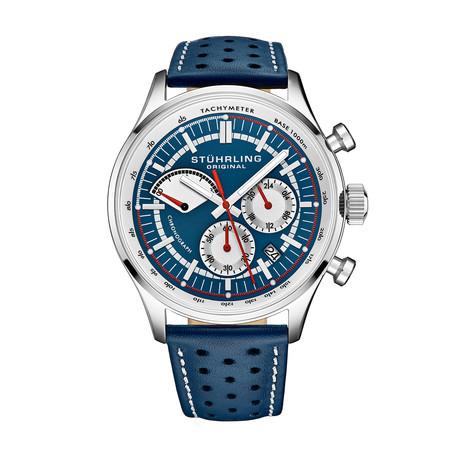 Stuhrling Original Monaco Chronograph Quartz // 934.02 // New