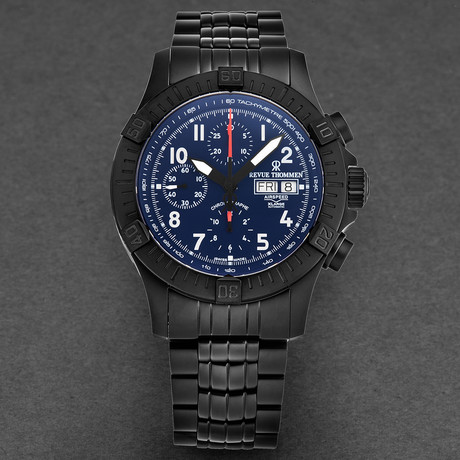 Revue Thommen Airspeed Xlarge Chronograph Automatic // 16071.6175 // New
