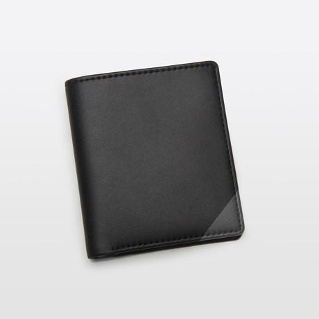 Slim Wallet // Black + Gray