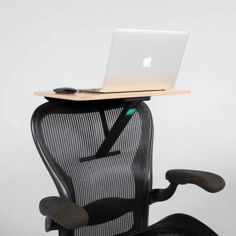 StorkStand Standing + Lap Desk // Black