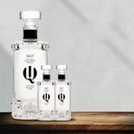 QUI Platinum Extra Añejo Tequila // 750ml + 2 Mini Bottles