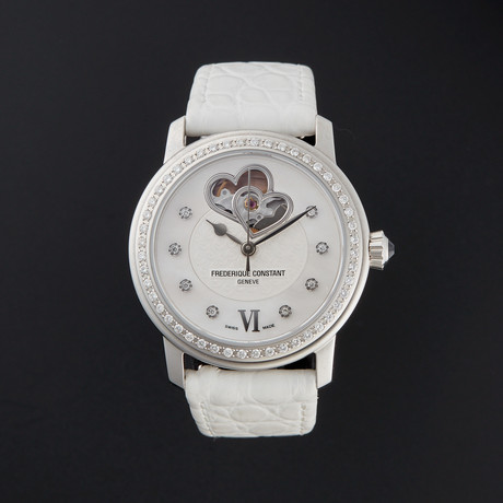 Frederique Constant Ladies Heartbeat Automatic // FC-310WHF2PD6 // Store Display