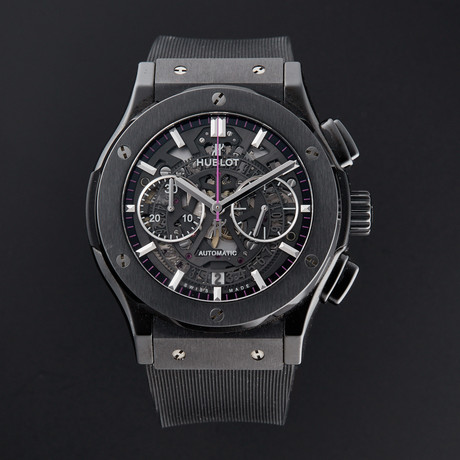 Hublot Classic Fusion Chronograph Automatic // 525.CM.0179.LR.WTY14 // Pre-Owned