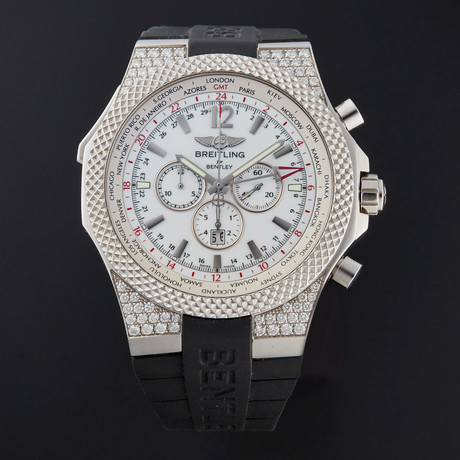 Breitling Bentley GT Midnight Chronograph Automatic // A47362AL/A740 // Store Display