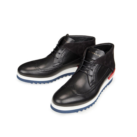 Ezmek Casual Sneakers // Black + White (Euro: 43)