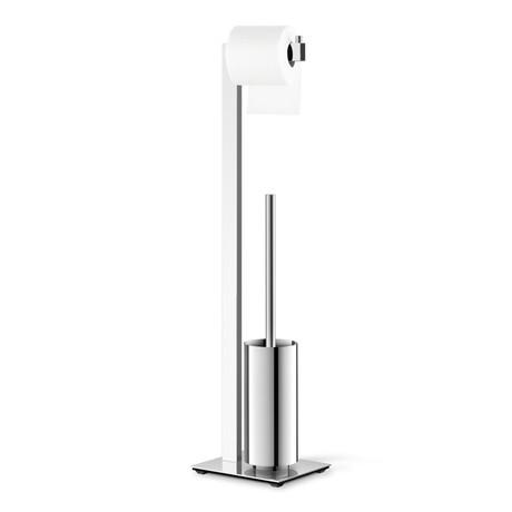 Linea // Square Toilet Butler + Paper Holder + Toilet Brush
