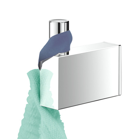 Linea // Towel Hook (Brushed Finish)