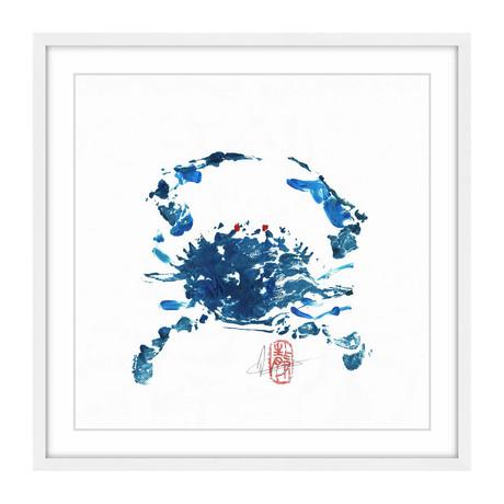 "Blue Crab (12""H x 12""W x 1.5""D)"