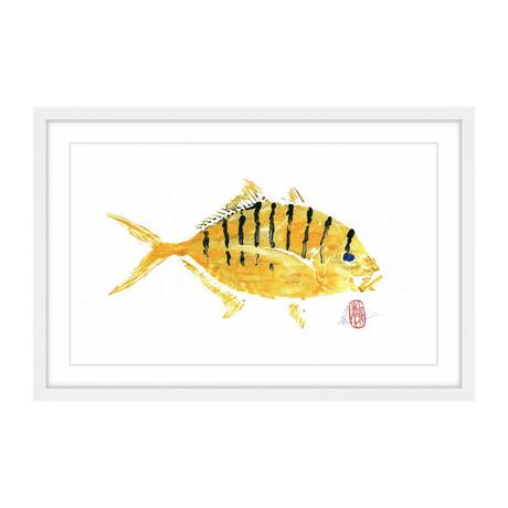 "Golden Trevally (8""H x 12""W x 1.5""D)"