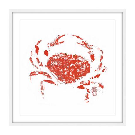 """Lucky Crab (12""""H x 12""""W x 1.5""""D)"""