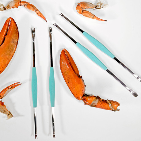 Crab + Lobster Forks // Pack of 4