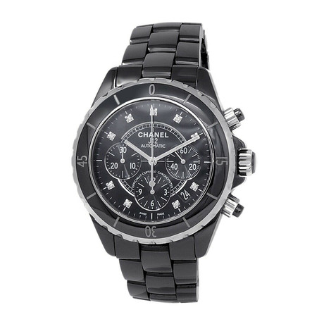 Chanel Ladies J12 Chronograph Automatic // H2419 // Pre-Owned