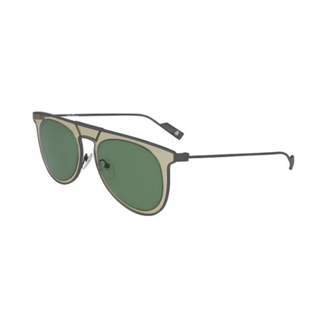 Salvatore Ferragamo // Men's SF209S-759 Sunglasses // Sand + Green