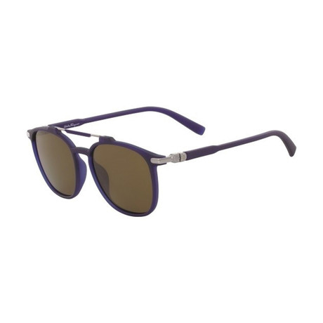 Salvatore Ferragamo // Men's SF893SP-427 Sunglasses // Matte Blue
