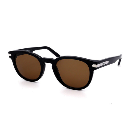 Salvatore Ferragamo // Men's SF935S-001 Sunglasses // Black + Brown