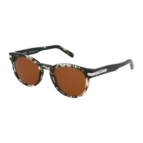 Salvatore Ferragamo // Men's SF935S-052 Sunglasses // Gray Havana + Brown