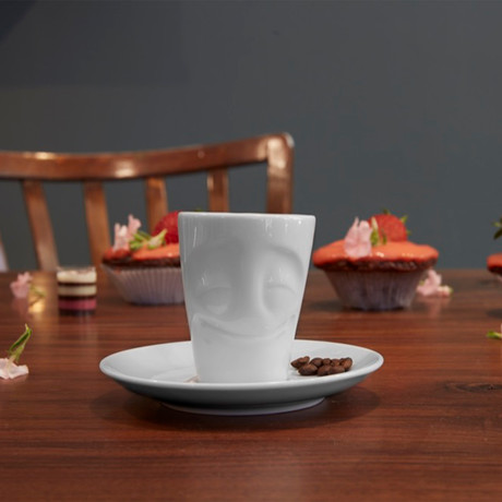 Espresso Mug + Handle // Cheery