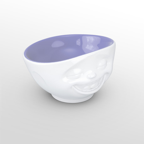 Bowl // Laughing // Lavender // 16.9 Fl. Oz
