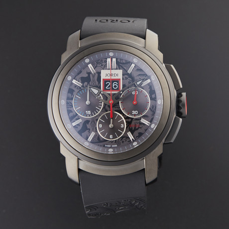 Michel Jordi Furka Chronograph Automatic // SIM.100.03.003.01 // Store Display