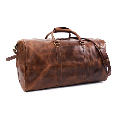 "Wilson Leather Duffle 23.5"" // Brown"